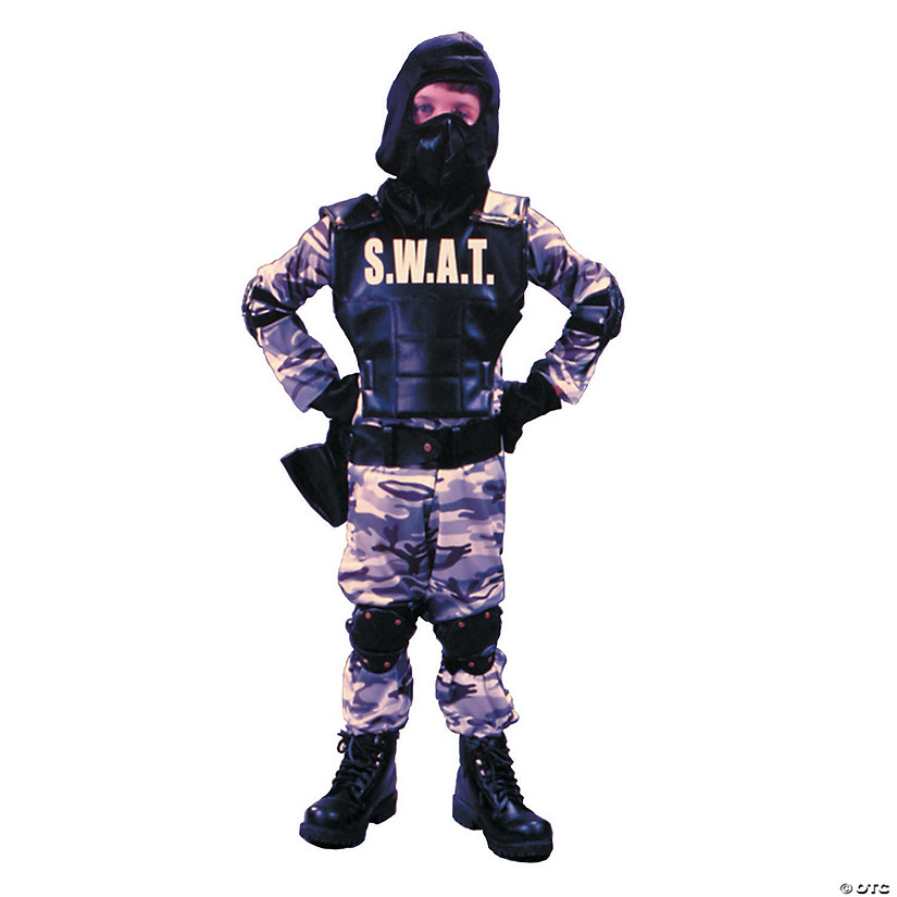 Boy's S.W.A.T. Costume Audio Thumbnail