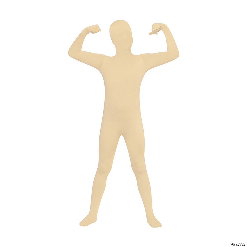 Boy's Skin Suit Nude Color Costume - Extra Large