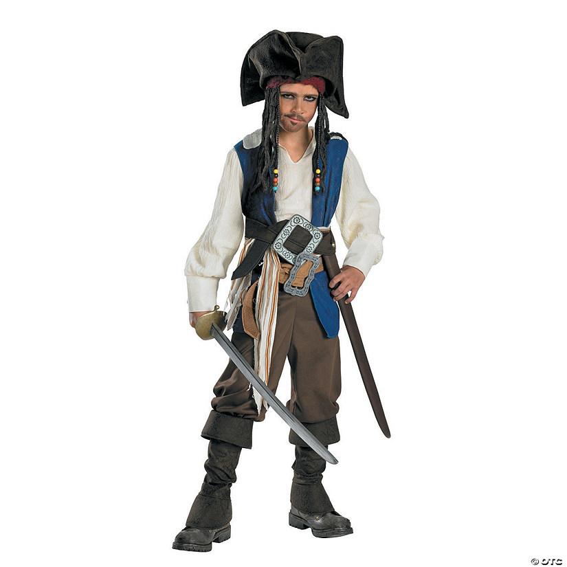 Boys Standard Captain Jack Sparrow Costume Small~13579855