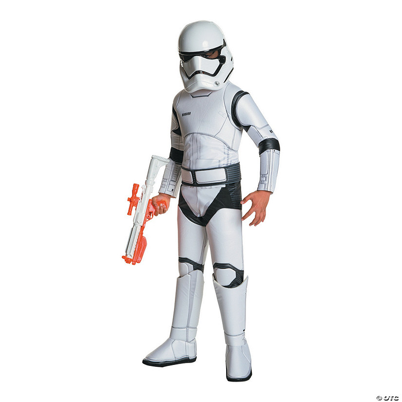 Boy's Super Deluxe Star Wars: The Force Awakens™ Stormtrooper Costume
