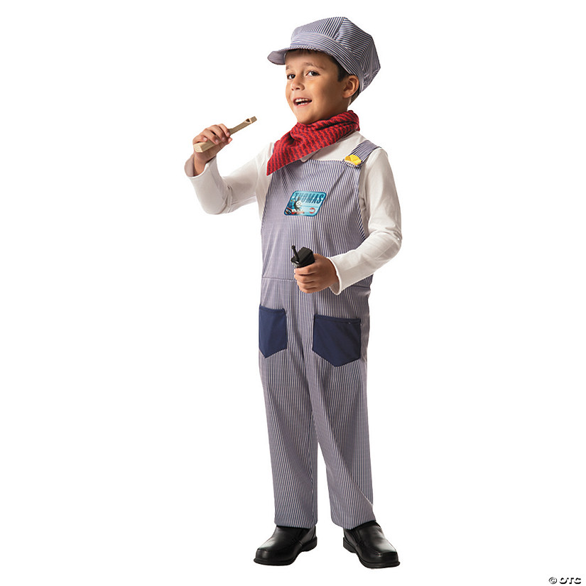 Boy's Thomas Tank Conductor Costume Audio Thumbnail