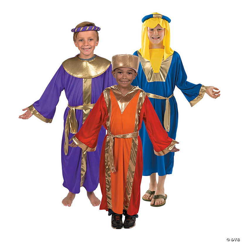 Boy's Three King's Costume Set