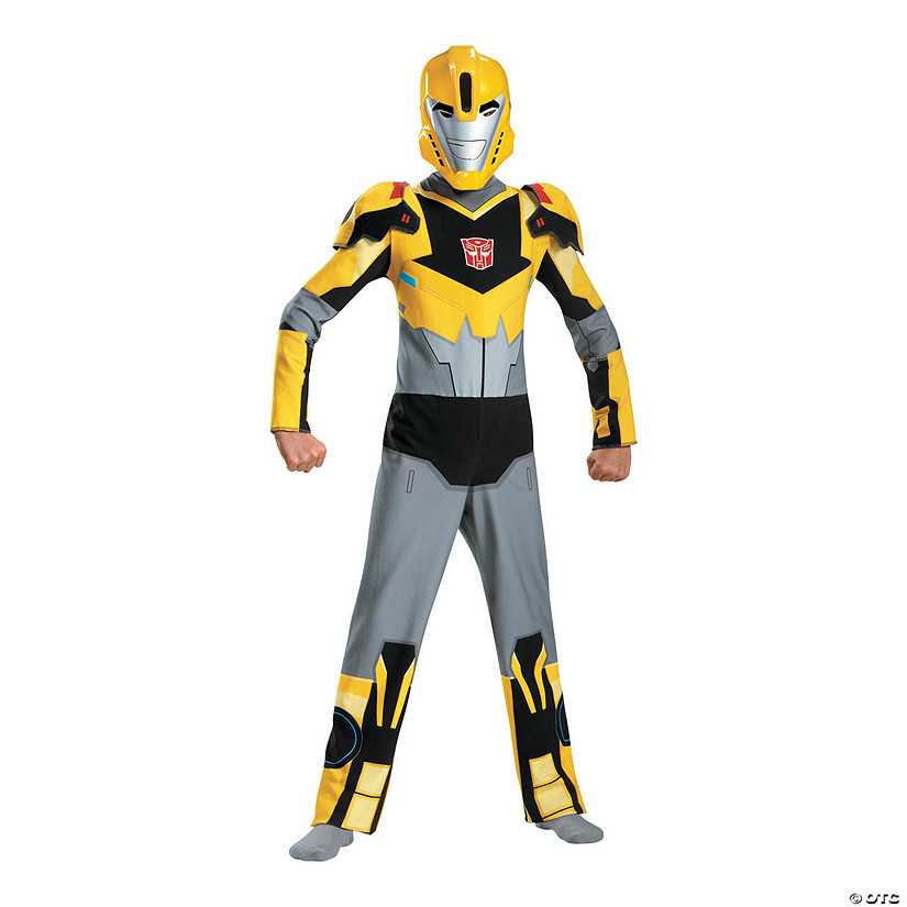 Boy's Transformers Bumblebee Costume Audio Thumbnail