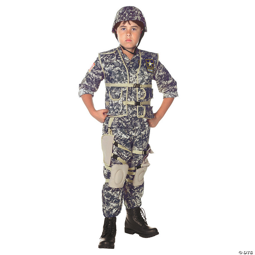 Boy's US Army Ranger Costume