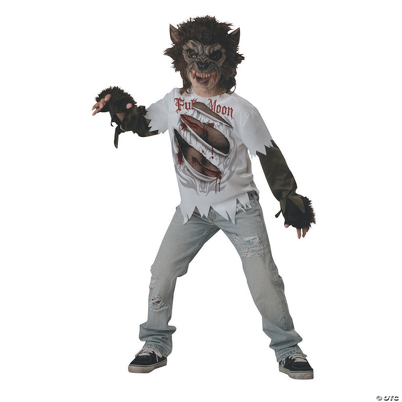 Boy's Werewolf Costume Audio Thumbnail