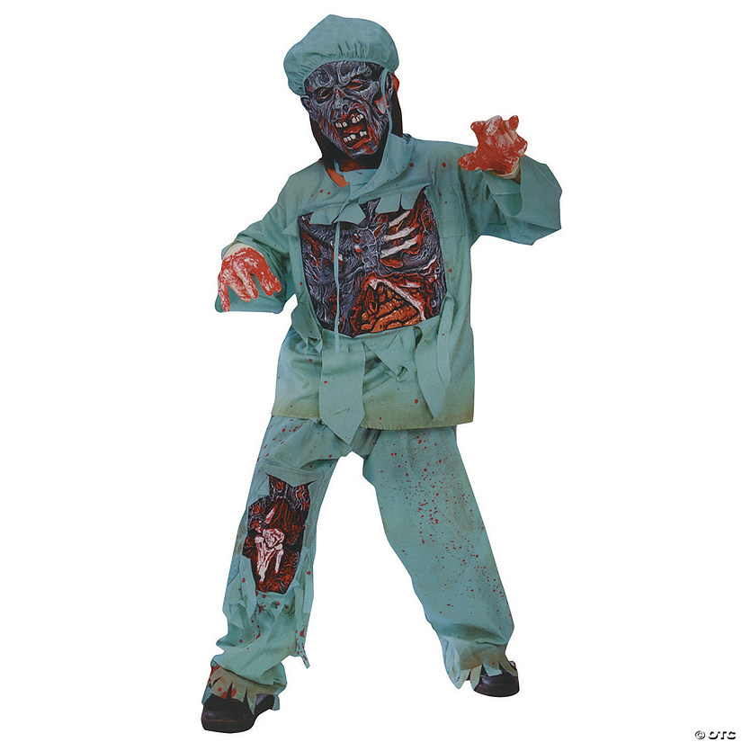 Boy's Zombie Doctor Costume