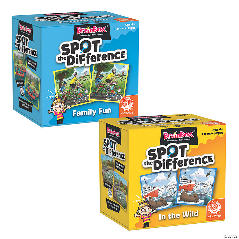 Brain Box Spot the Difference Games: Set of 2 Audio Thumbnail