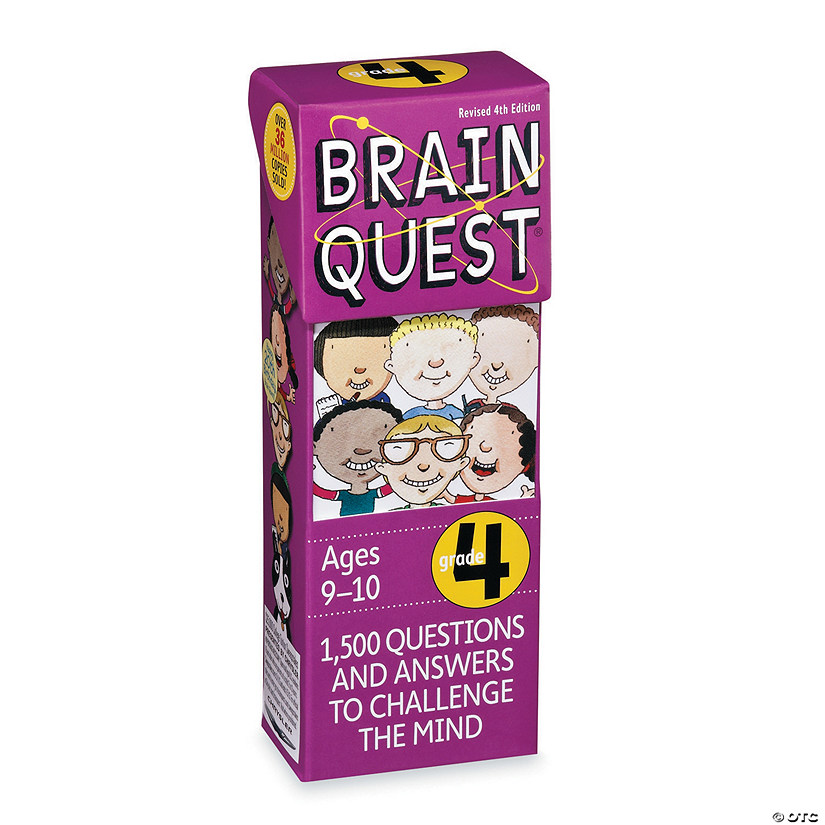 Brain Quest 4th Grade Image Thumbnail