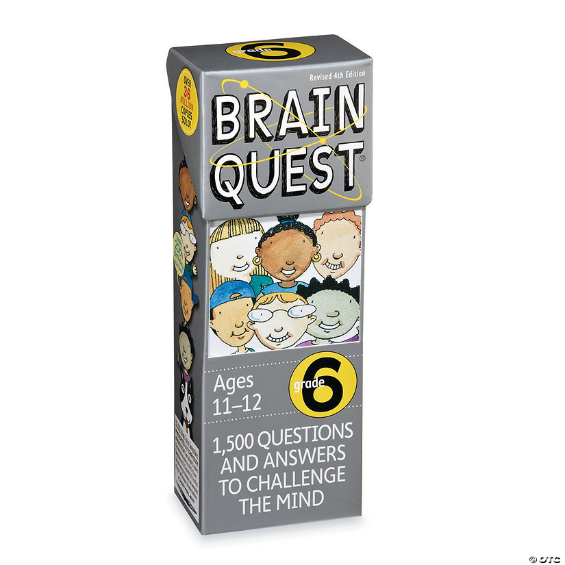 Brain Quest 6th Grade Audio Thumbnail