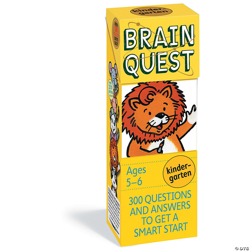 Brain Quest Kindergarten Image Thumbnail