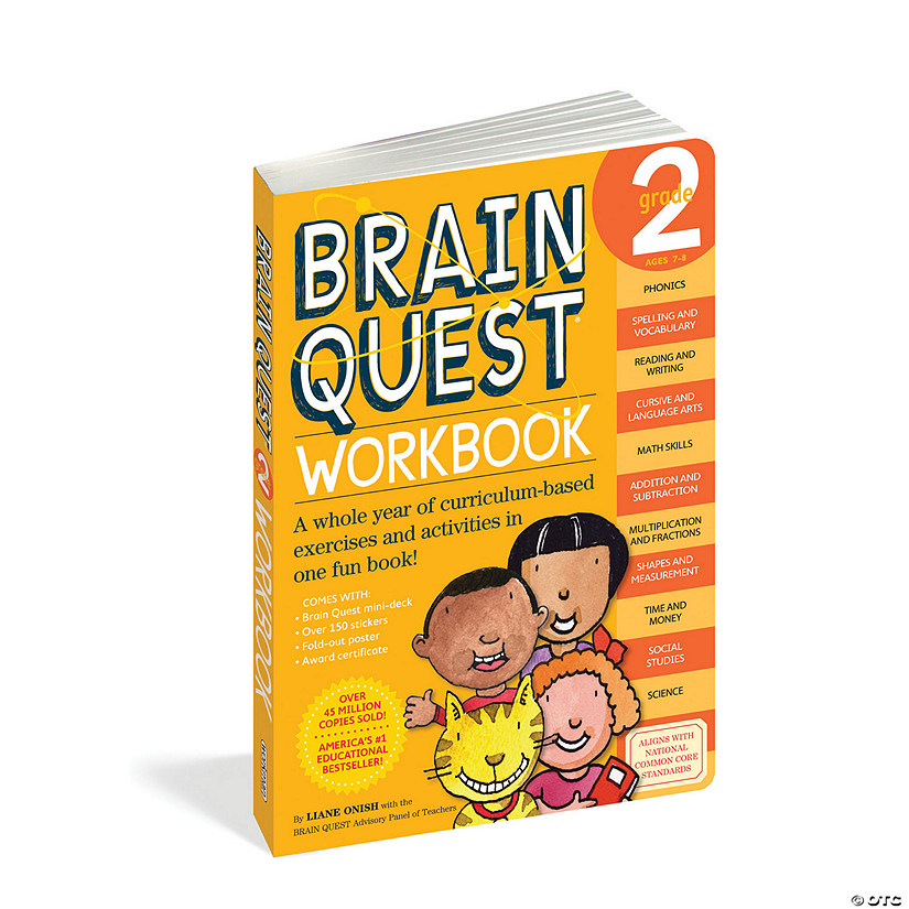 Brain Quest Workbook: Grade 2 Image Thumbnail
