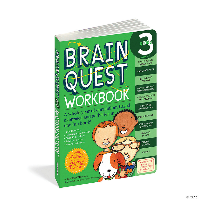 Brain Quest Workbook: Grade 3 Image Thumbnail