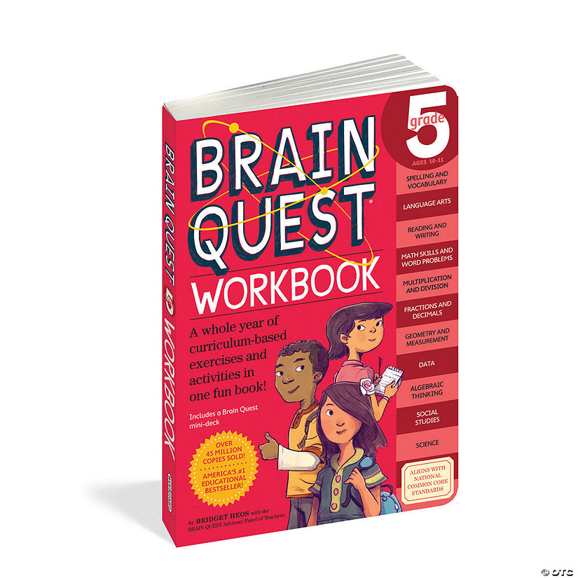 Brain Quest Workbook: Grade 5 Image Thumbnail
