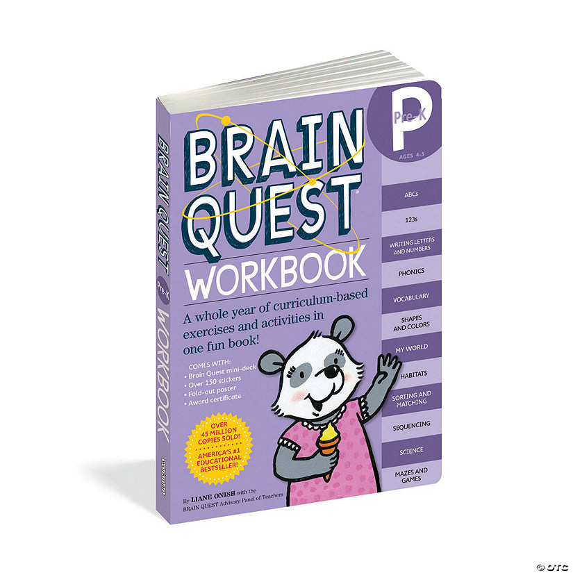 Brain Quest Workbook: Pre-K Image Thumbnail