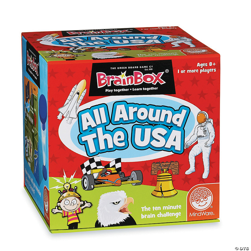 BrainBox: All Around the USA Audio Thumbnail