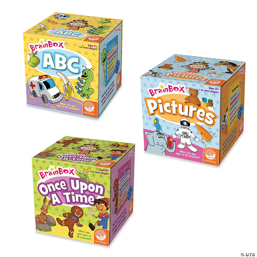 BrainBox Early Learning Games: Set of 3 Image Thumbnail