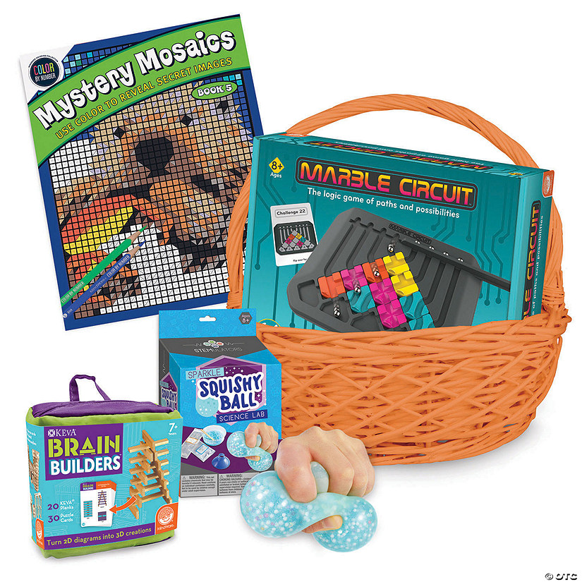 Brainy Easter Basket: Ages 8+ Audio Thumbnail