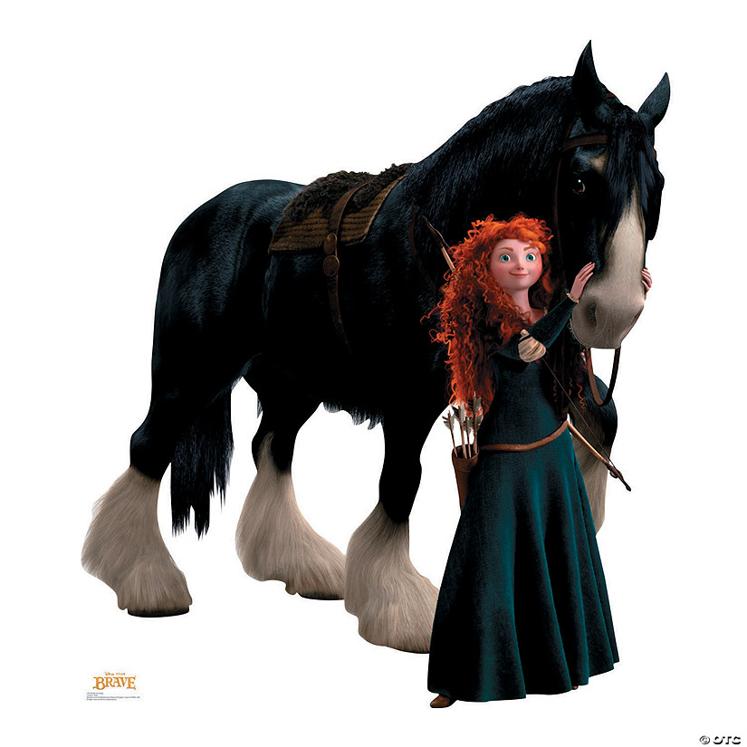 Brave's Merida & Angus Cardboard Stand-Up Audio Thumbnail