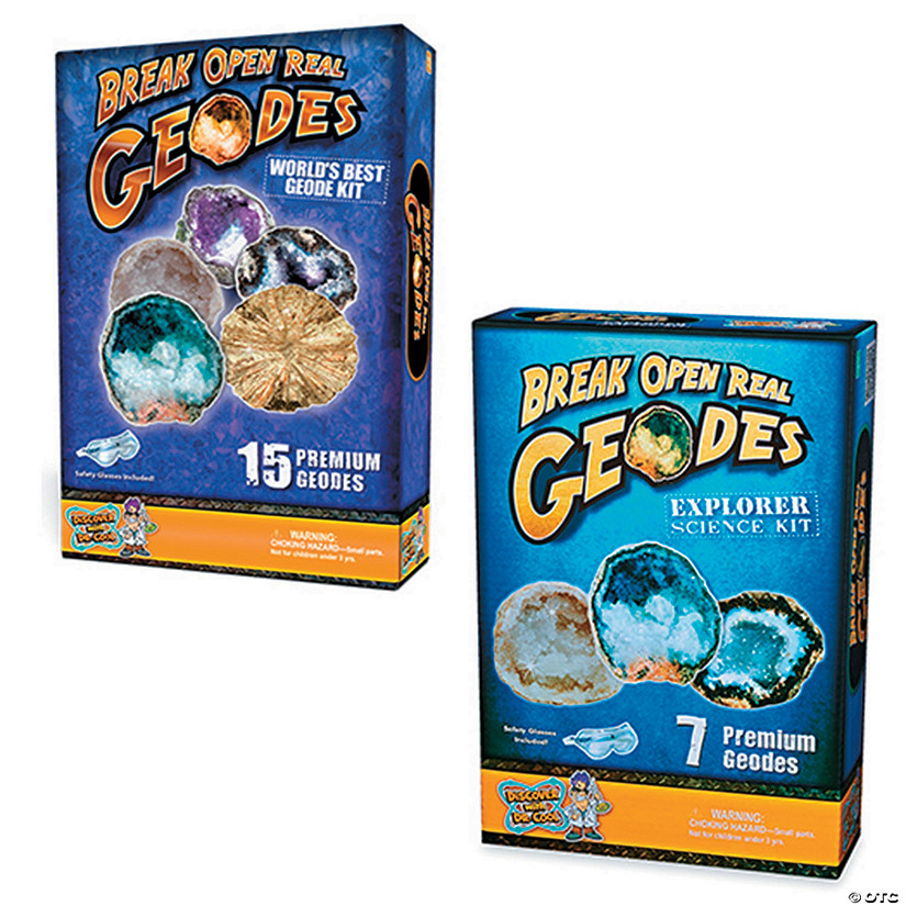 Break Open Geodes: Set of 2 Image Thumbnail