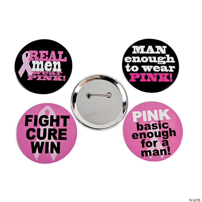 Breast Cancer Awareness Buttons For Men Audio Thumbnail