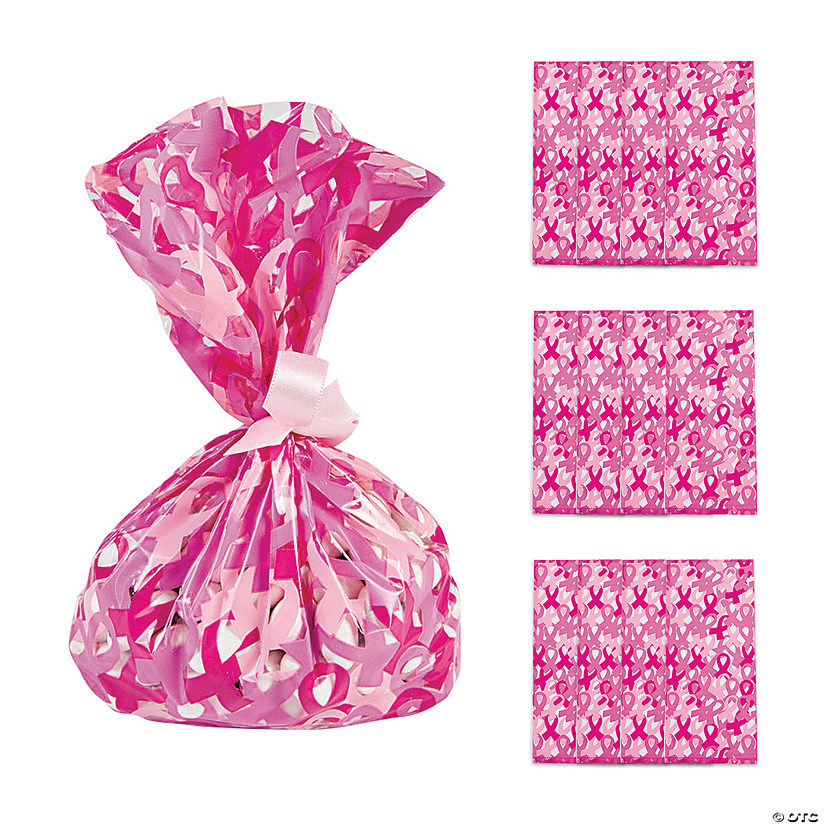 Breast Cancer Awareness Cellophane Bags