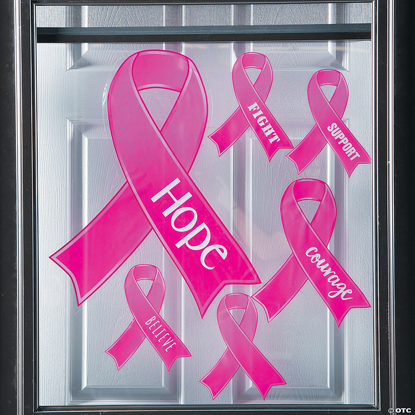 Breast Cancer Awareness Window Clings Audio Thumbnail