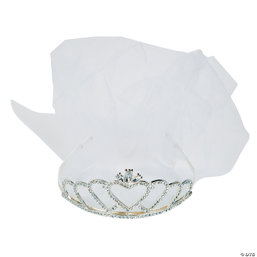 Bride Deluxe Tiara with Veil