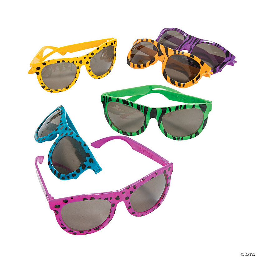 Bright Animal Print Sunglasses Audio Thumbnail
