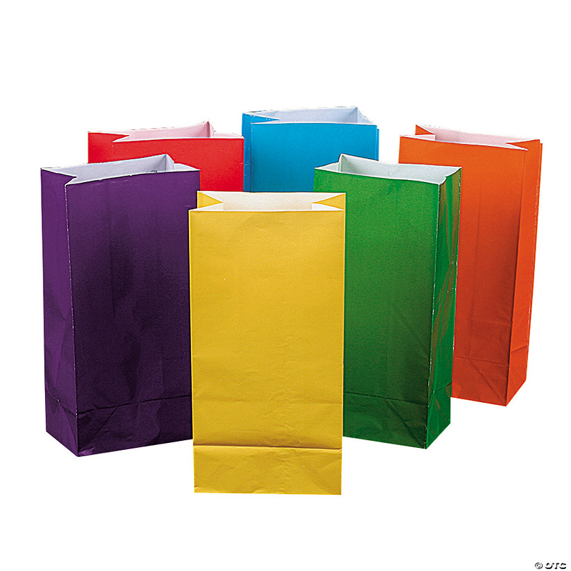 Bright Color Goody Bags