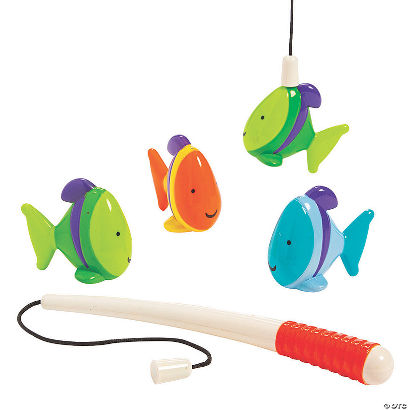 Bright Color Magnetic Fishing Game Image Thumbnail