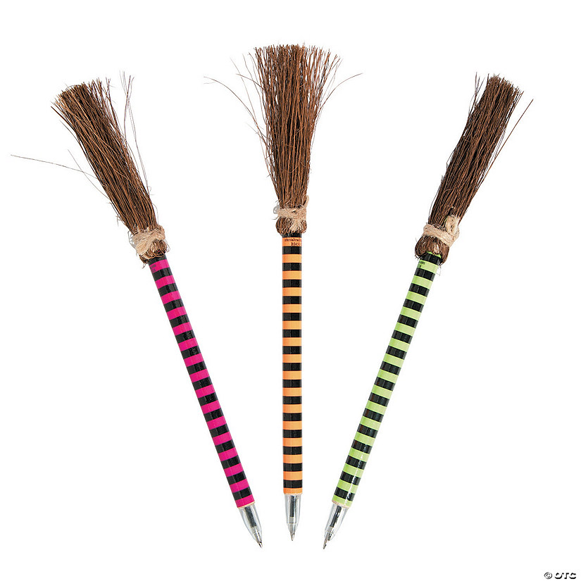 Bright Color Witch Broom Pens Audio Thumbnail