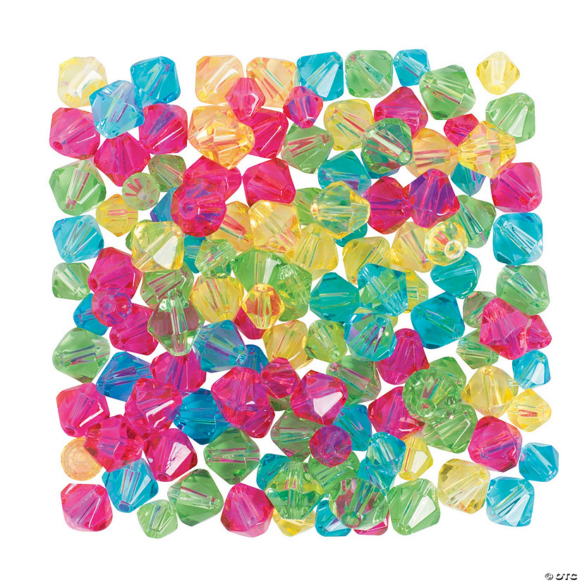 Bright Crystal Bead Assortment - 6mm - 8mm
