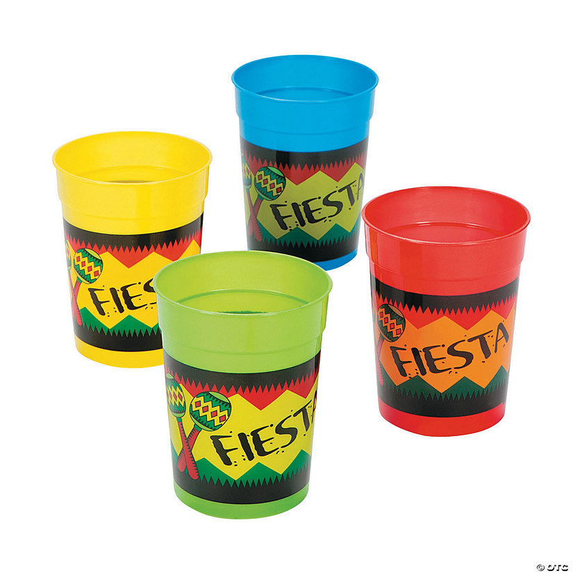"Bright ""Fiesta"" Plastic Cups Audio Thumbnail"