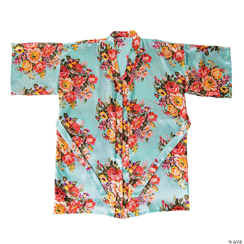 Bright Mint Floral Robe Audio Thumbnail
