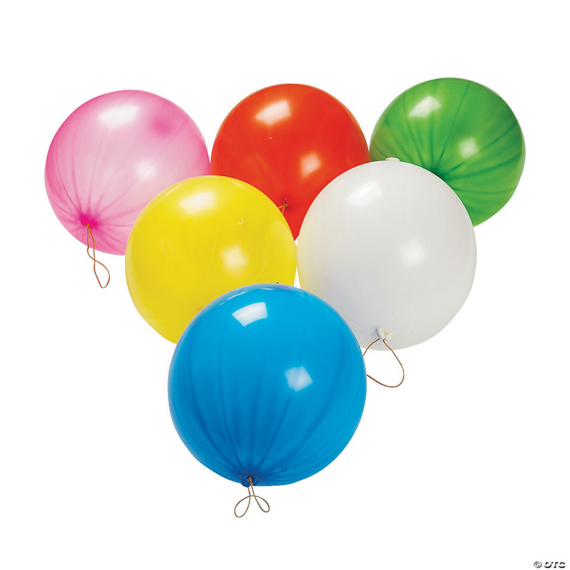 Bright Punch Ball Balloon Assortment