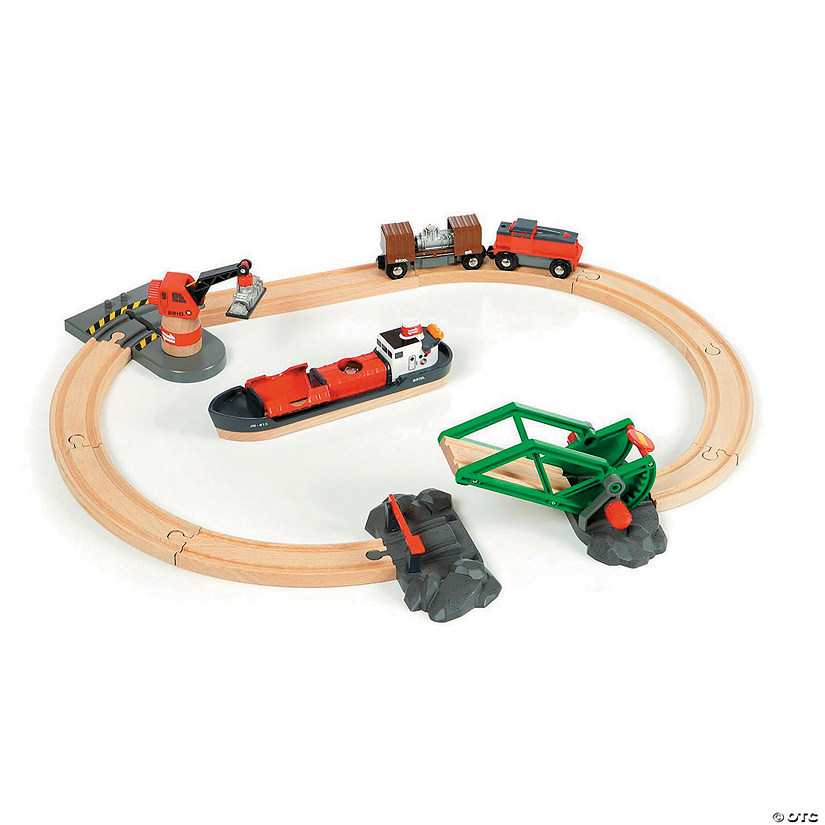 BRIO Cargo Harbor Set Image Thumbnail