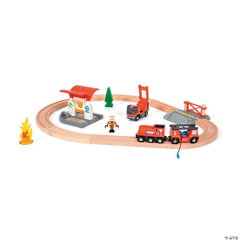 BRIO Rescue Firefighter Set Audio Thumbnail