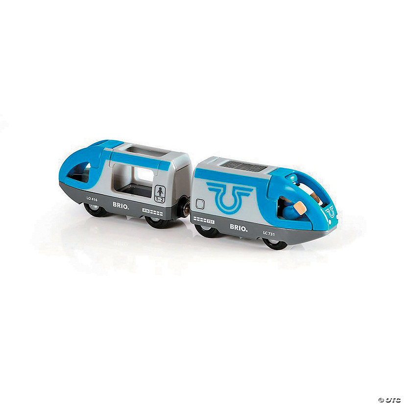 BRIO Travel Battery Train-Blue Audio Thumbnail