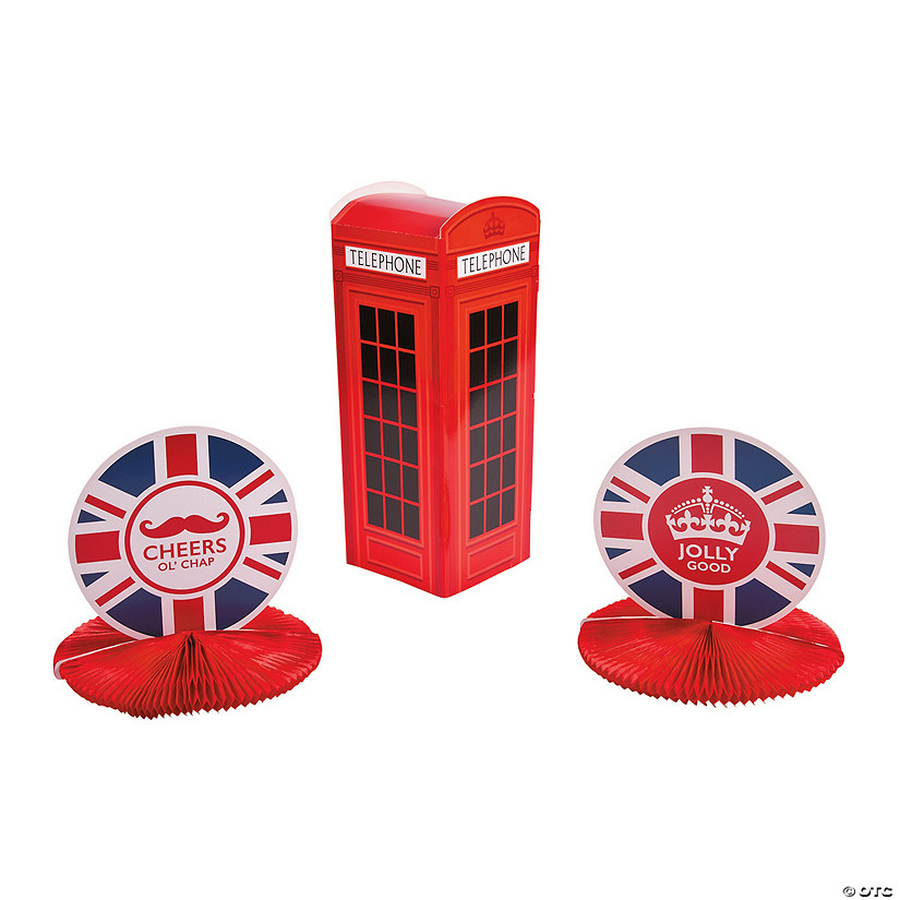 British Party Centerpieces