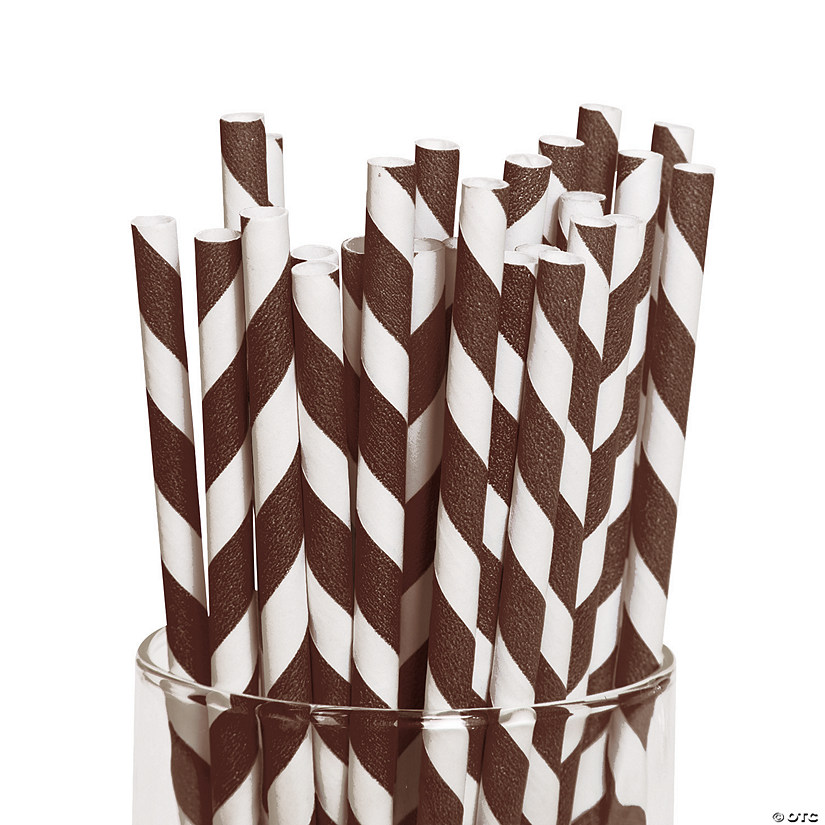 Brown Striped Paper Straws Audio Thumbnail