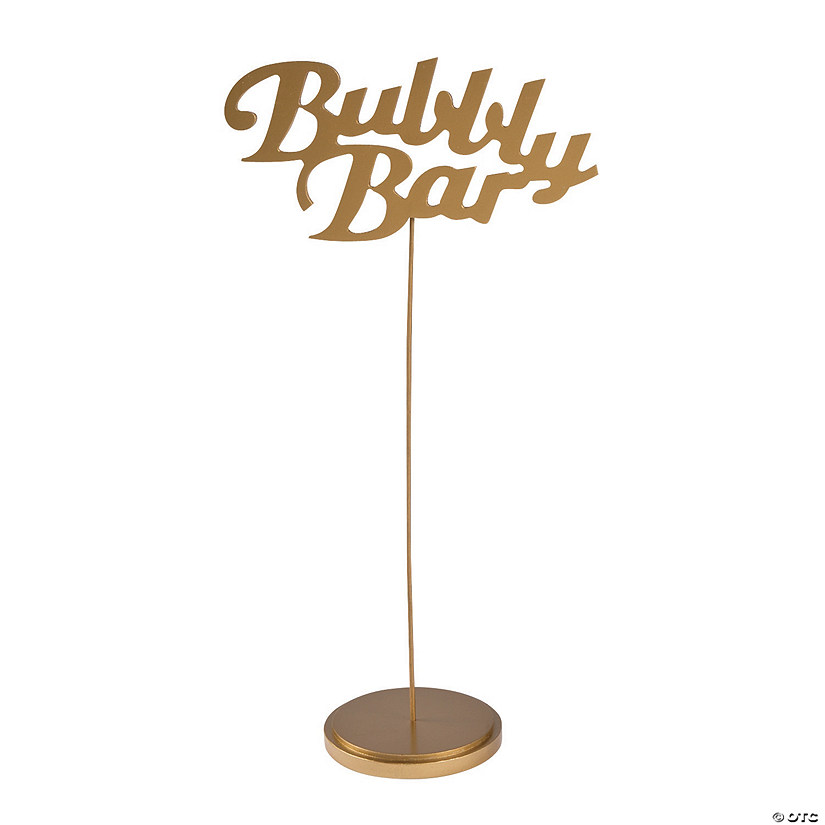 Bubbly Bar Table Sign Audio Thumbnail