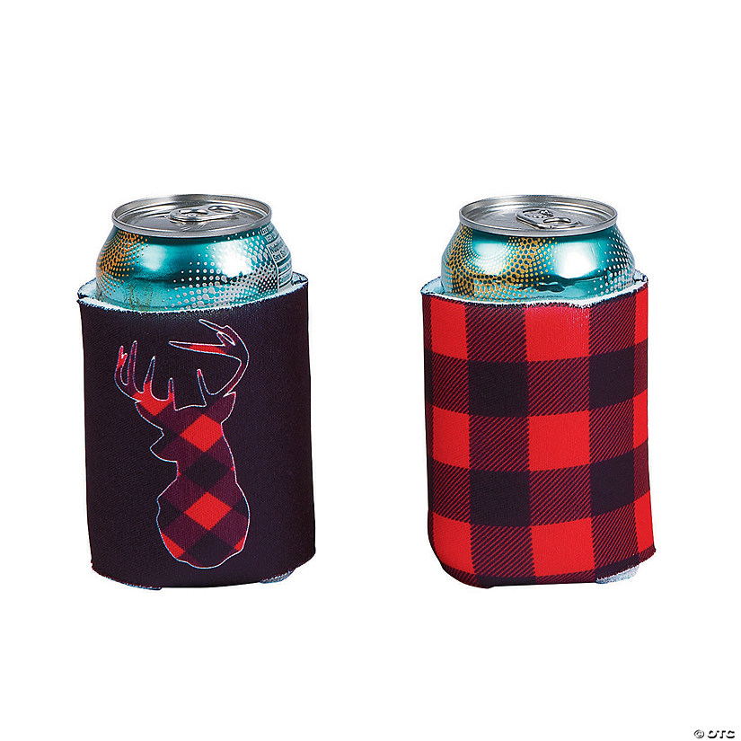 Buffalo Plaid Can Sleeves