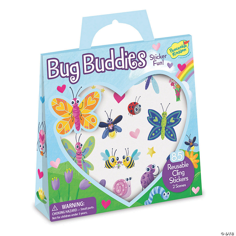 Bug Buddies Reusable Sticker Tote