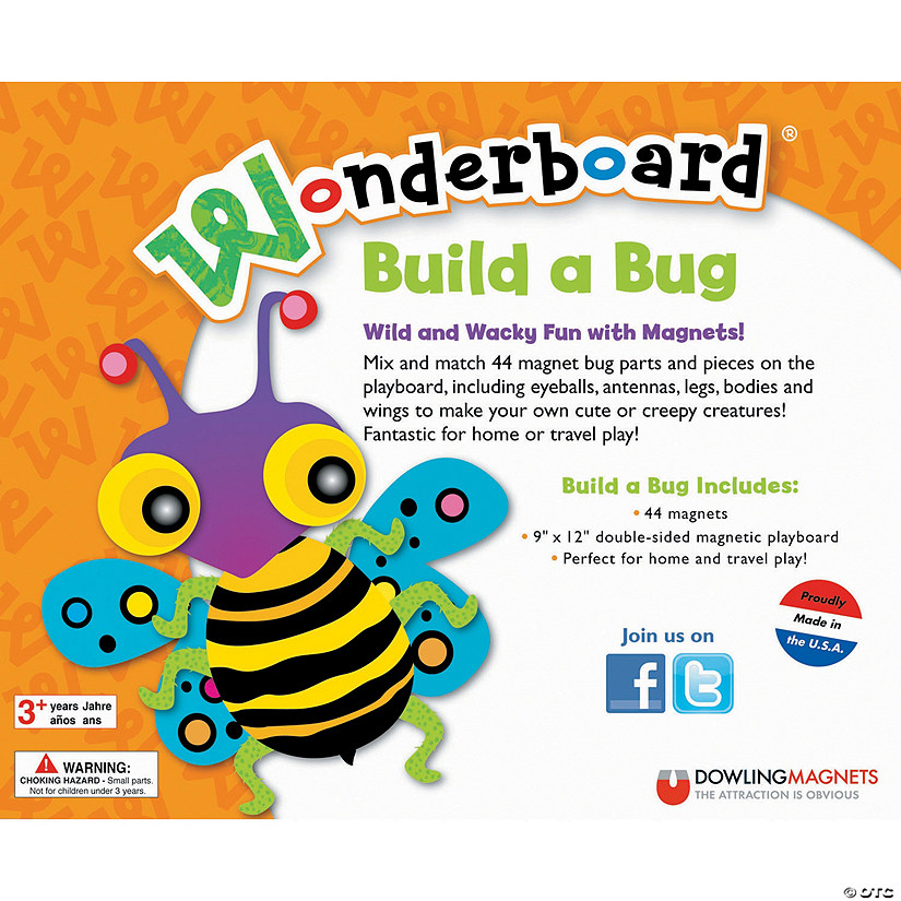 Build A Bug Wonderboard Magnet Set Image Thumbnail