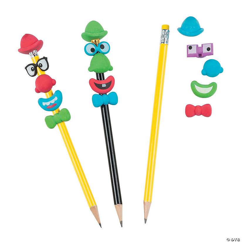 Build-a-Clown Pencil Toppers Audio Thumbnail