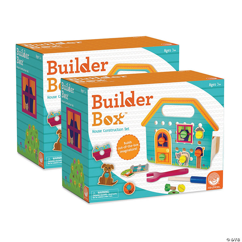 Builder Box House Set of 2