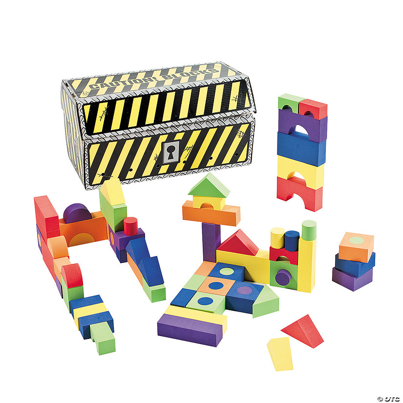 Building Blocks Set with Chest