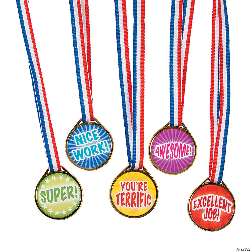 Bulk Awards Medal Assortment - 50 Pc. Audio Thumbnail