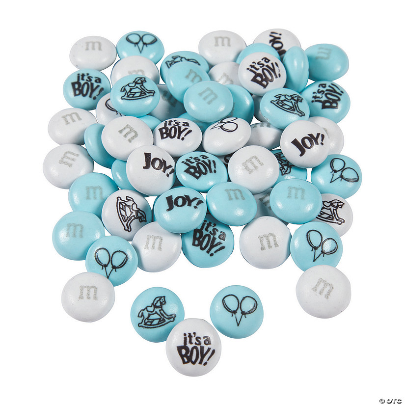 Bulk Baby Boy Blend M&Ms<sup>®</sup> Chocolate Candies