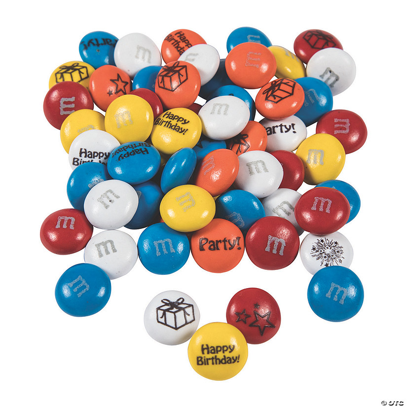 Bulk Birthday Blend M&Ms<sup>®</sup> Chocolate Candies